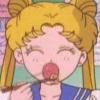 alasen: (usagi is eating)