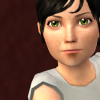 angieshade: a serious-looking toddler sim with dark hair (Default)