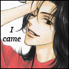 "lokifan: Animated guy putting his hand through his hair, text ""I came"" (Sensei: I came)"