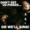 maevele: (sing)