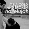 maevele: (broken hallelujah)