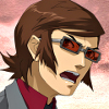 stealth_noodle: Persona 2's Katsuya is taking this all very seriously. (katsuya, officer hotcakes)