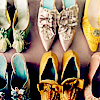 unclutter: pairs of antique shoes (shoes)