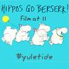 evil_plotbunny: Hippos go berserk (hippo)