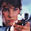 scrollgirl: maria hill bloodied and bad-ass with gun (marvel hill)