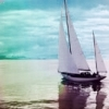 beachlass: sailboat (sail away)