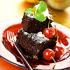 wishmatrix: (chocolate cake with cherries)