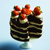 wishmatrix: (strawberry chocolate cake)