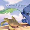 krazykitkat: (stitch with turtles (friends))