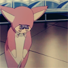 sideways: [ergo proxy] pino bowing in rabbit pjs (►no one else I would rather)