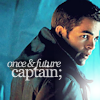"jenwryn: Jim Kirk, with the words ""once and future captain"". (star trek • jim; once and future)"