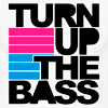 vahinkoelain: Text: Turn up the bass (turn up the bass)