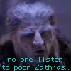 alee_grrl: Zathras from B5.  Text: No one listen to poor Zathras (zathras, nobody listens)