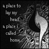 cydling: Final Fantasy 8 Garden Insigna in black and white with text (ffviii: Garden Insigna - a place to lay)