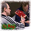 oz_magi: manip where Chris gives Toby a wrapped present (not an orange) (gifts)