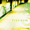 "alegitimateeagle: avatar: the last airbender air temple floor with the text ""freedom"" on it. (atla - air is freedom.)"