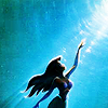 "enamoured: The Little Mermaid. ""But who cares? No big deal. I want... more."" (part of your world)"