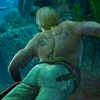 jackdaws_master: (Edward Shirtless and Underwater)