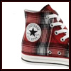 freckles42: punk-striped converse chucks (Default)