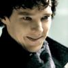 bennie: (Sherlock!smile)