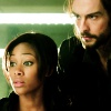 sally_maria: Ichabod looking over Abbie's shoulder. (Sleepy Hollow)