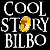 "sally_maria: Cartoon image saying ""Cool Story Bilbo"" with the Ring as one of the Os. (Cool Story Bilbo)"