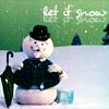 jaxadorawho: (Seasonal ☆ Winter ~ Snowman let it snow)