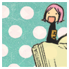 jenwryn: Yachiru, looking gleeful. (bleach • yachiru; happy face)