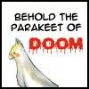 oyceter: (bleach parakeet of doom!)