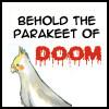 oyceter: (bleach parakeet of doom!)