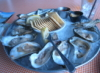 zirconium: snapshot of oysters enjoyed in Charleston (oysters)
