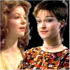 sharpest_asp: Nyssa and Tegan from Doctor Who together in one icon (Doctor Who: Tegan and Nyssa)