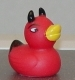 kate_nepveu: red plastic duck with horns (devil duck)