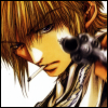 kate_nepveu: Sanzo, three-quarters profile, cigarette, pointing gun at viewer (Saiyuki (Sanzo), I am not amused)