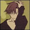 kate_nepveu: Hakkai from front with hand in hair and small smile (Saiyuki (Hakkai))