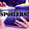 sally_maria: River's Tardis diary, with the word SPOILERS (Spoilers)