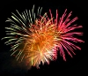 kate_nepveu: four overlapping firework bursts (fireworks)