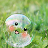 zanzando: A smiling soap bubble. (:'D)