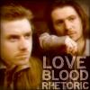 "amberfox: from the movie ""Rosencrantz and Guildenstern Are Dead"" (love blood rhetoric)"