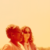 ampersandand: warehouse 13: Mrs. F and Myka and the horizon in orange (the faraway horizon at your fingertips)