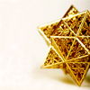 musesfool: gold star christmas ornament (it's something i have to do)