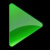 azetidine_plays: A green triangle facing right. (Default)