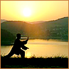 branchandroot: person doing tai chi in the sun (tai chi)