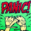 dancing_moon: PANIC!!!! (Sinfest image) (Panic!)