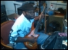 rei_kun: Me practicing my bass guitar (Default)