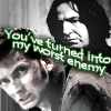 callum: what have you done (snape/barty - worst enemy)