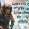 pocochina: laura roslin demanding an explanation for bullshit (laura roslin demands an explanation)