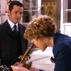 skieswideopen: Dr. Ogden looks into a microscope while Detective Murdoch watches (Murdoch Mysteries)