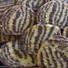 zeborah: zebra-striped biscuits (cooking)