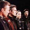 skieswideopen: Sheridan, Sinclair, Ivanova, & Marcus (Babylon 5)